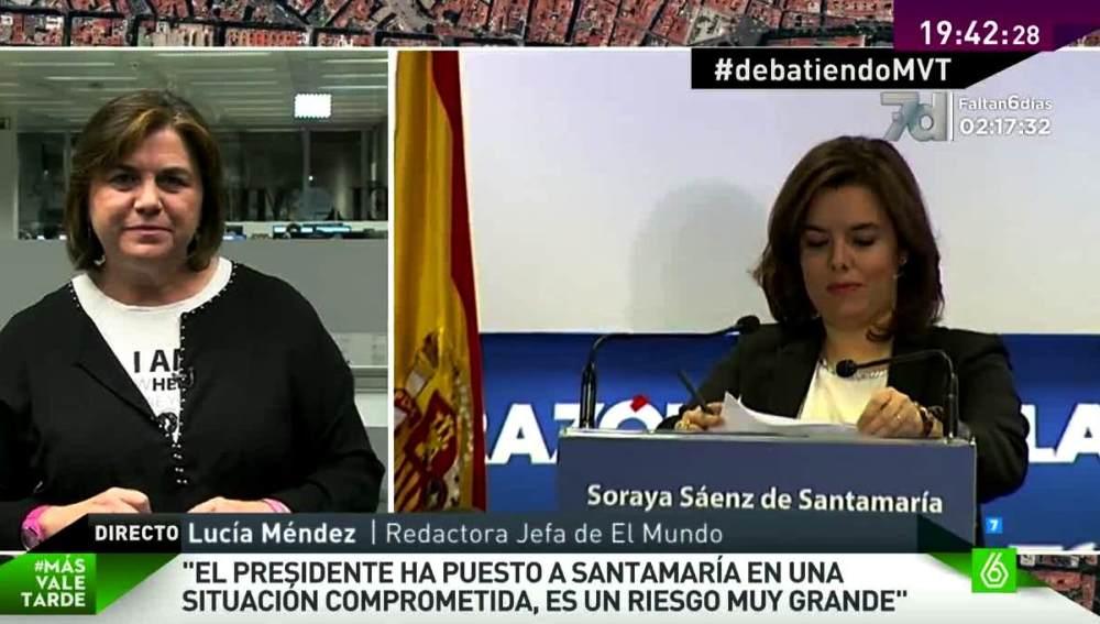 Lucía Méndez en MVT