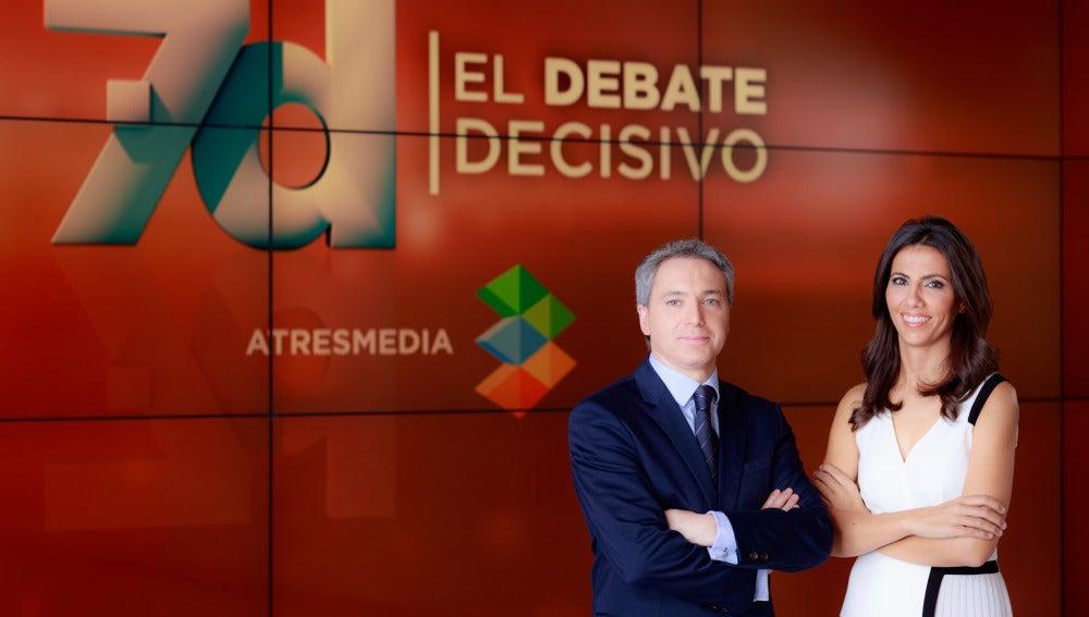 Vicente Vallés y Ana Pastor moderan el 7d: El Debate Decisivo