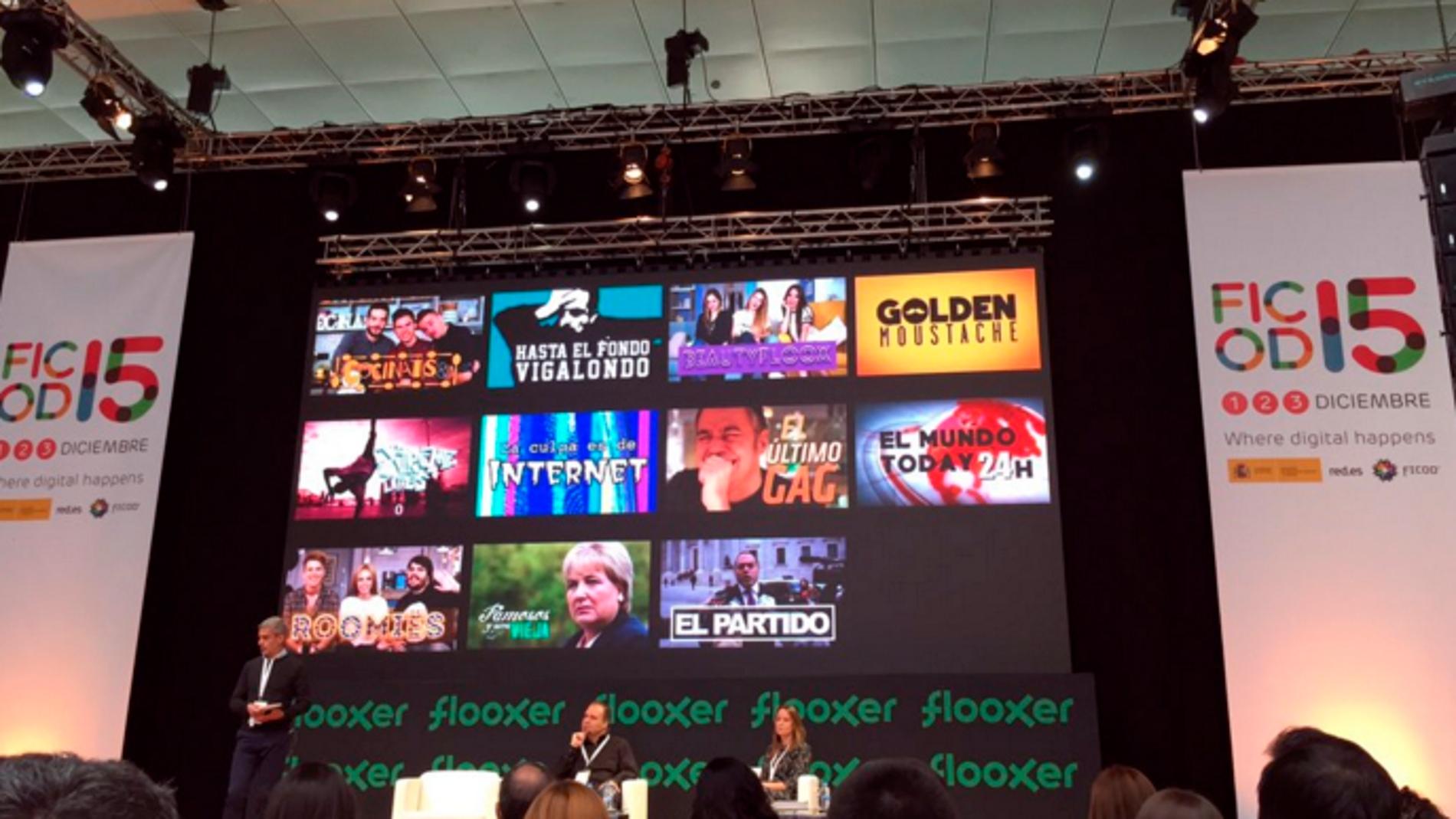 Flooxer, en FICOD 2015