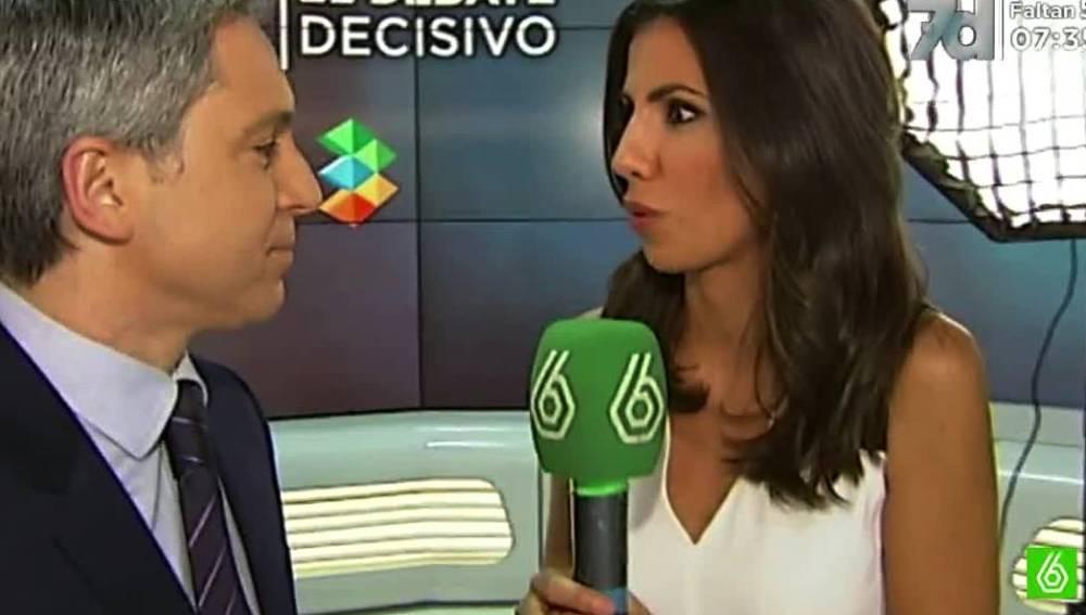 Vicente Vallés y Ana Pastor