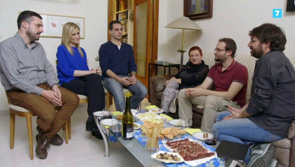 Cifuentes, junto a Jordi Évole en Salvados
