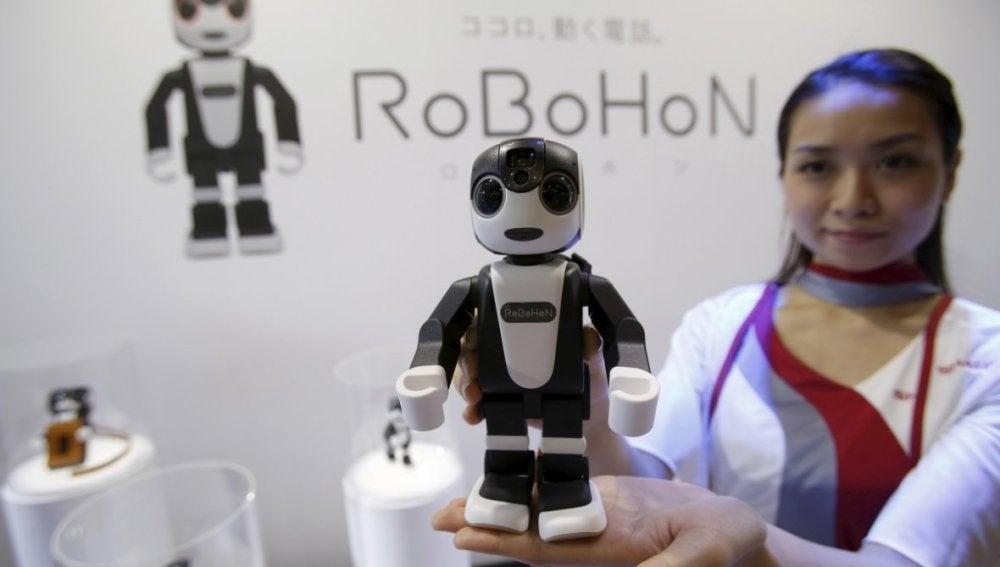 El pequeño RoboHon