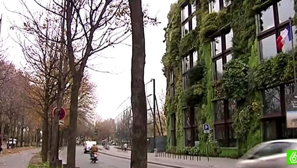 Casa ecológica en París