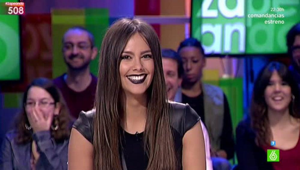 Cristina Pedroche quiere marcar tendencia con sus labios negros