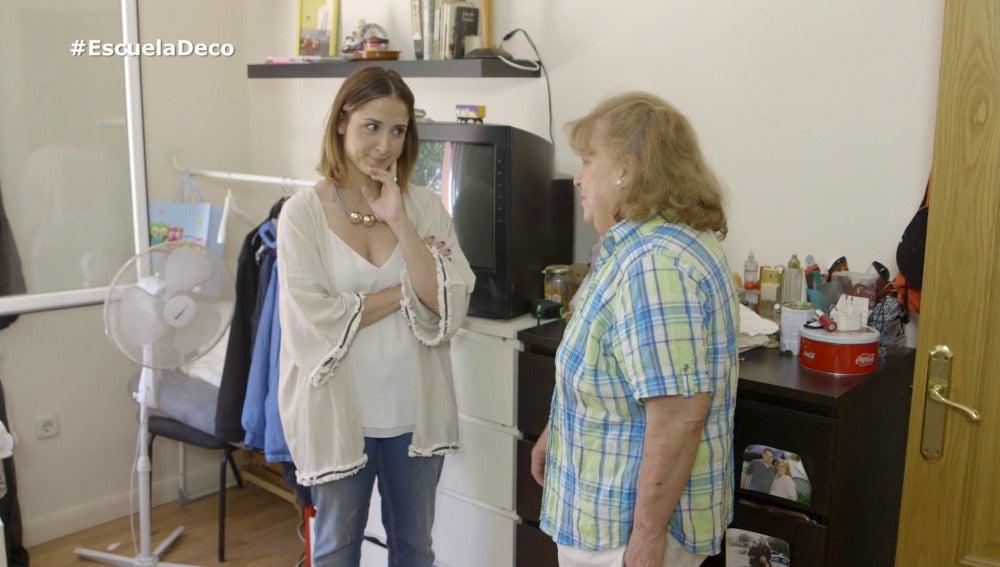 Ángela quiere cambiar su cuarto