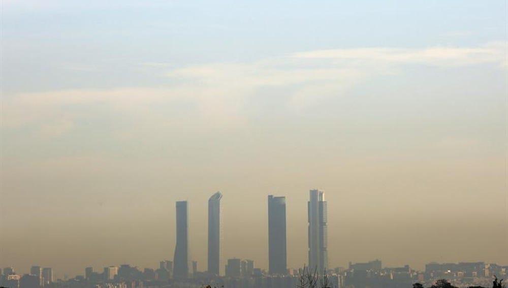 Altos niveles de contaminación en Madrid