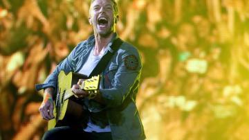 Vocalista de la banda británica Coldplay Chris Martin