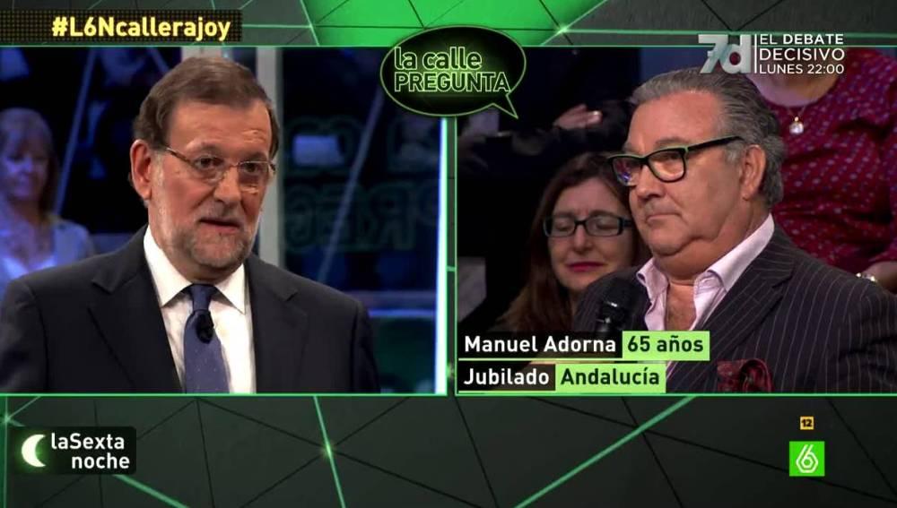 Rajoy sobre la corrupción