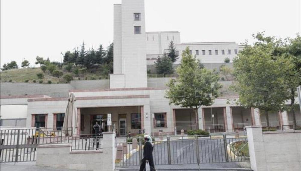 Edificio del consulado de EEUU en Estambul