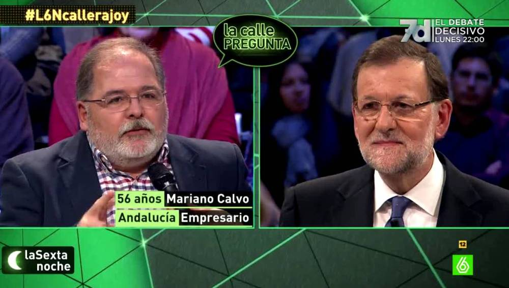 Mariano Rajoy hablando de su tiempo en política