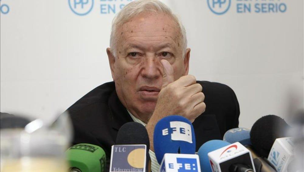 """Margallo: Sólo podría cambiar la Constitución con un """"consenso amplísimo"""""""