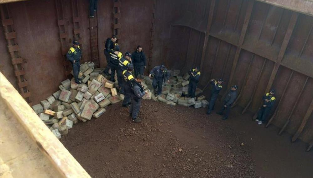 Incautadas 13 toneladas de hachís en Italia en una operación de varios países