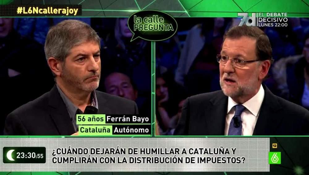 Rajoy, sobre Cataluña