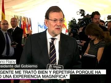 """Rajoy, sobre laSexta Noche: """"Repetiría, fue una experiencia magnífica"""""""