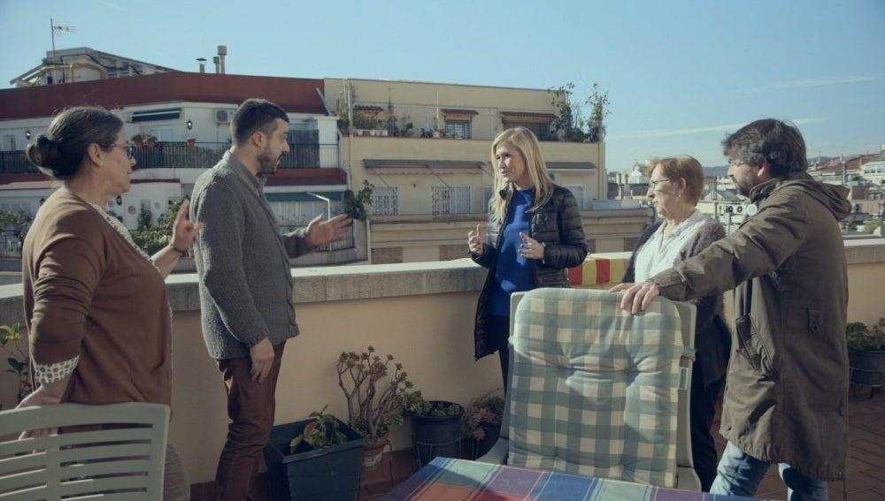 Cristina Cifuentes debate con los vecinos en Salvados