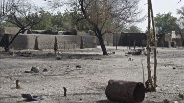 Zona cercana al lago Chad