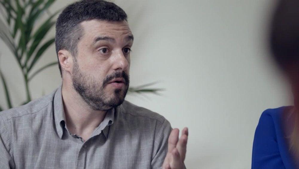 Diego, un catalán partidario de la tercera vía