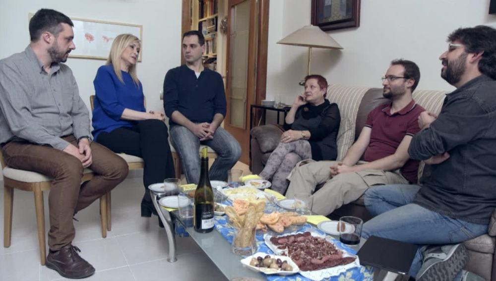 Cristina Cifuentes debate sobre Cataluña, en Salvados