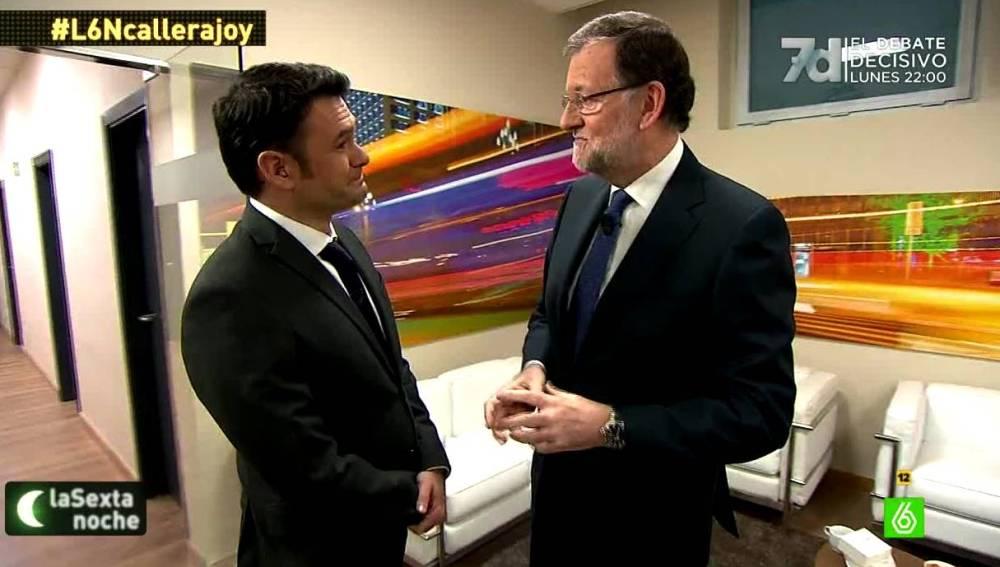 Mariano Rajoy habla sobre un tripartito