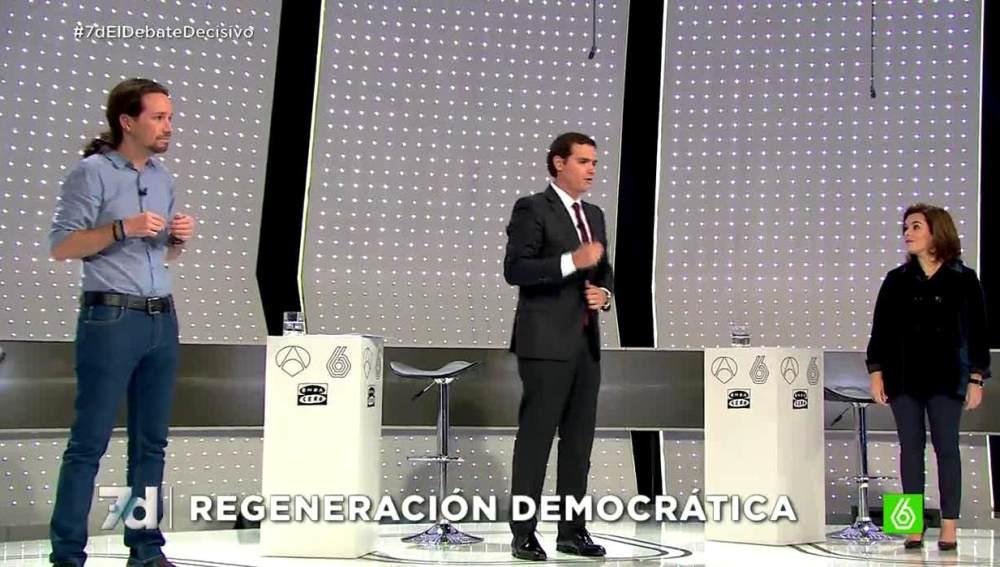 Iglesias, Rivera, Soraya