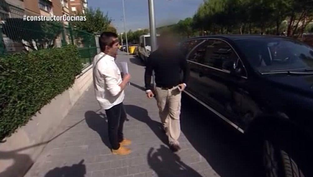 Antonio Hernández 'caza' al constructor a la fuga