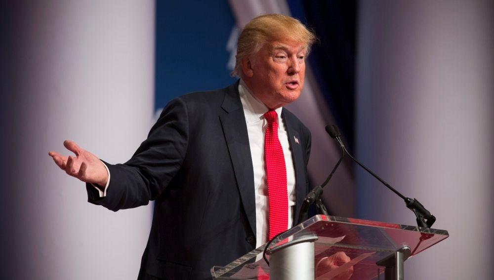 El candidato republicano a la Casa Blanca, Donald Trump