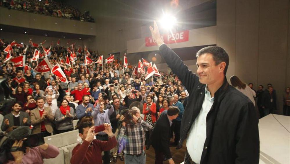 El secretario general del PSOE y candidato a la Presidencia del Gobierno