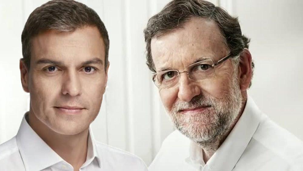 El cara a cara entre Mariano Rajoy y Pedro Sánchez en Atresmedia