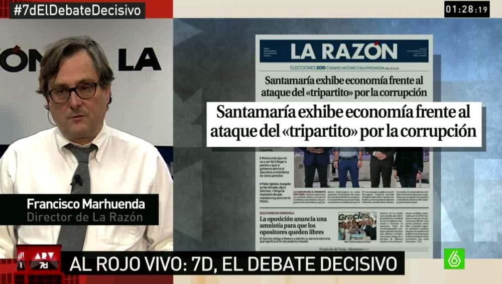 Francisco Marhuenda, sobre el debate