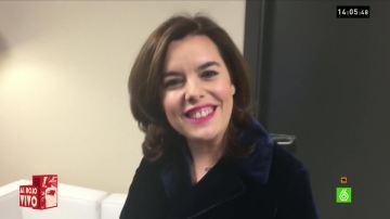 Soraya antes del debate
