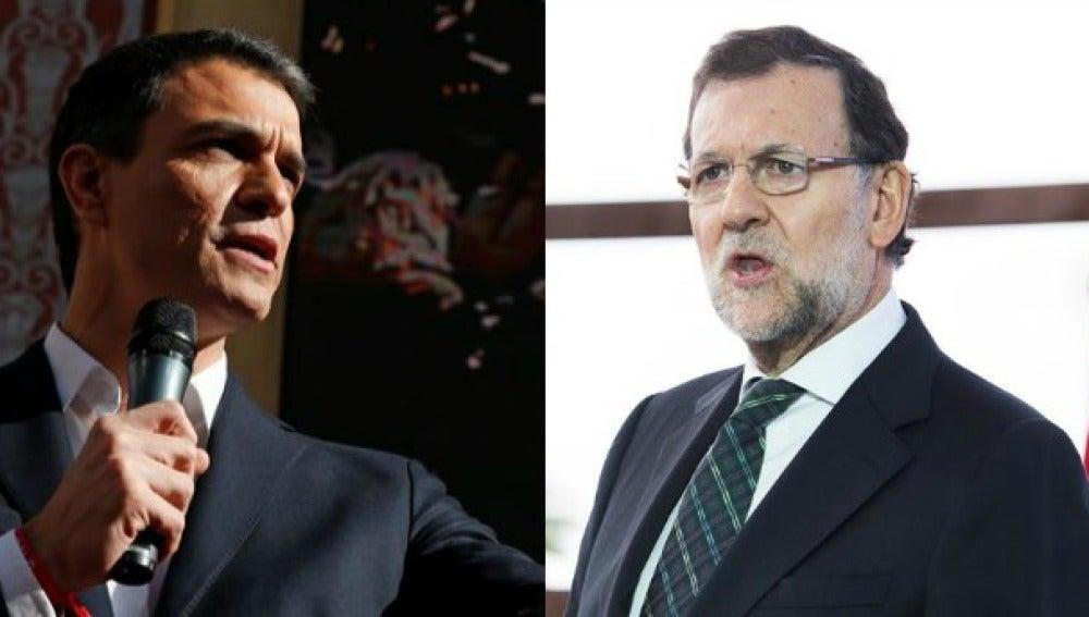 Cara a cara entre Mariano Rajoy y Pedro Sánchez