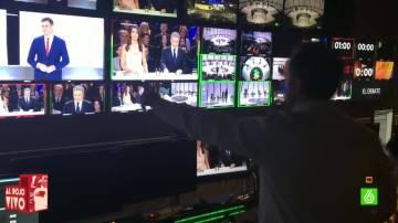 Control de realización durante el debate 7D
