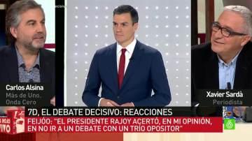 El presentador de Más de Uno, Carlos Alsina