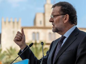 El candidato a la reelección como presidente del Gobierno, Mariano Rajoy