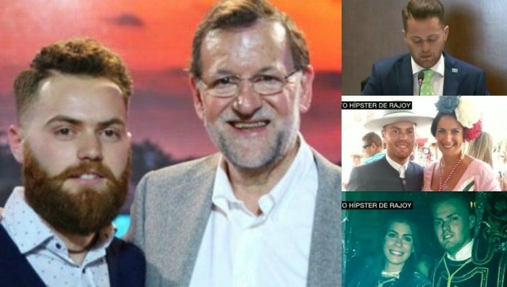 Así es el supuesto hipster de Rajoy