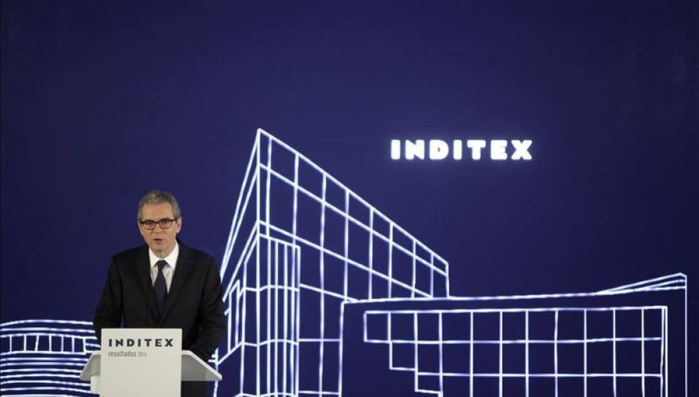 El presidente y consejero delegado de Inditex, Pablo Isla