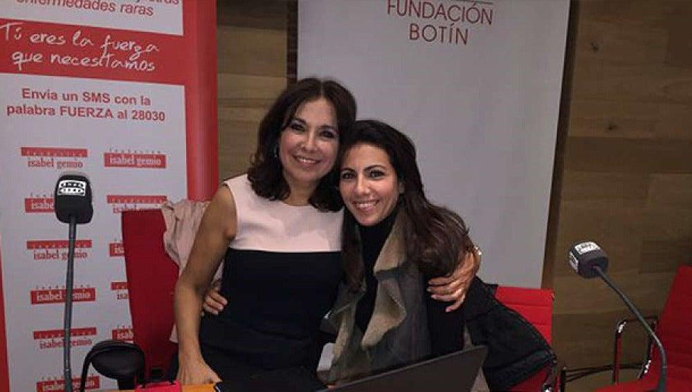 Isabel Gemio y Ana Pastor