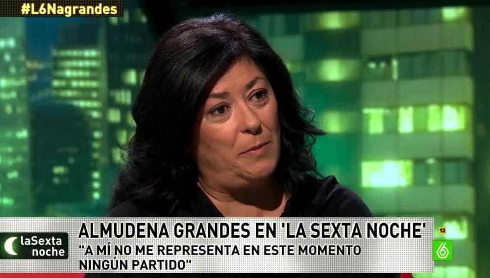 Almudena Grandes en laSexta noche