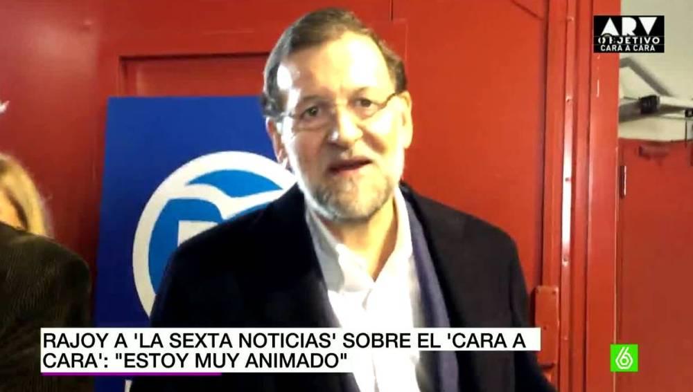 Rajoy habla con laSexta Noticias