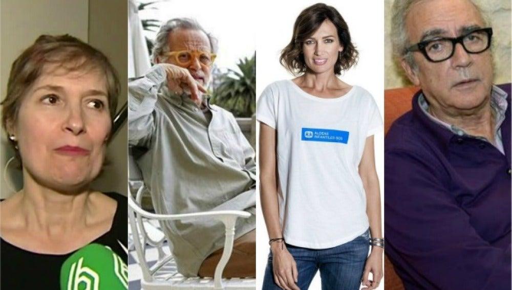 Assumpta Serna, Fernando Colomo, Nieves Álvarez y Juan José Millas