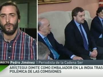 Pedro Jiménez, sobre Arístegui y Gómez de la Serna