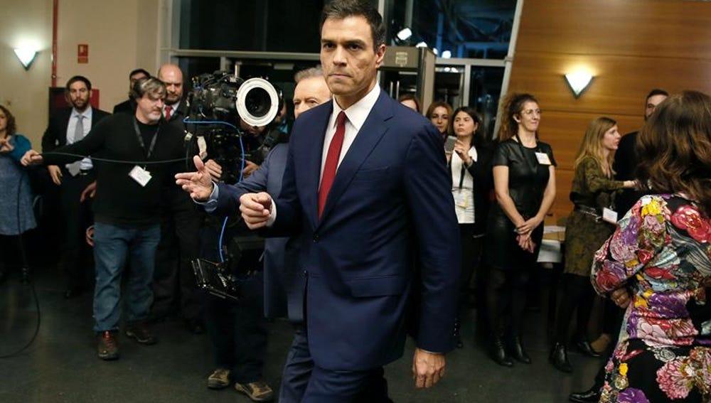 Pedro Sánchez, tras el cara a cara
