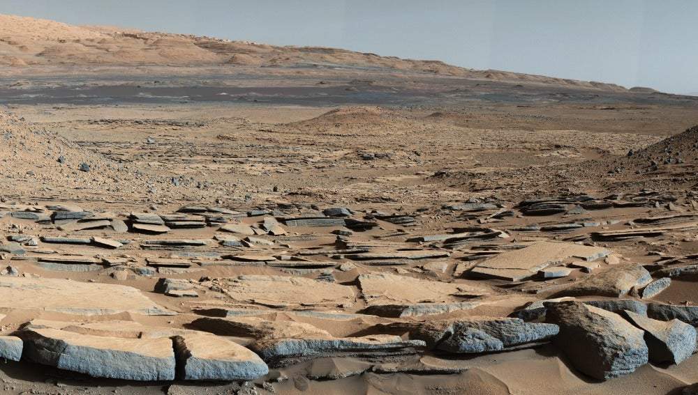 Imagen de la superficie marciana tomada
