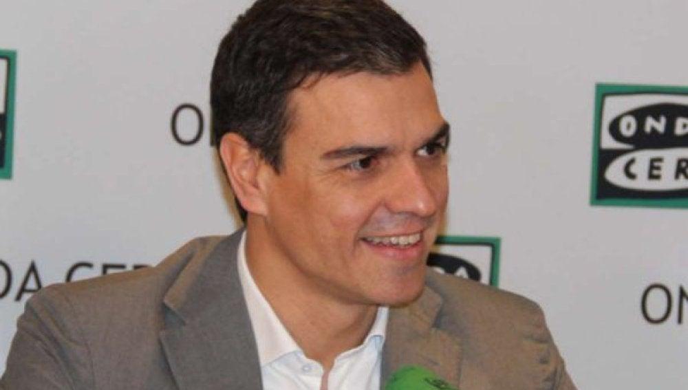 Pedro Sánchez en Más de Uno