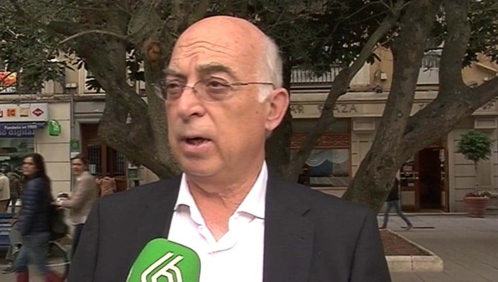 El candidato de Ciudadanos en Cantabria, Carlos Pratch