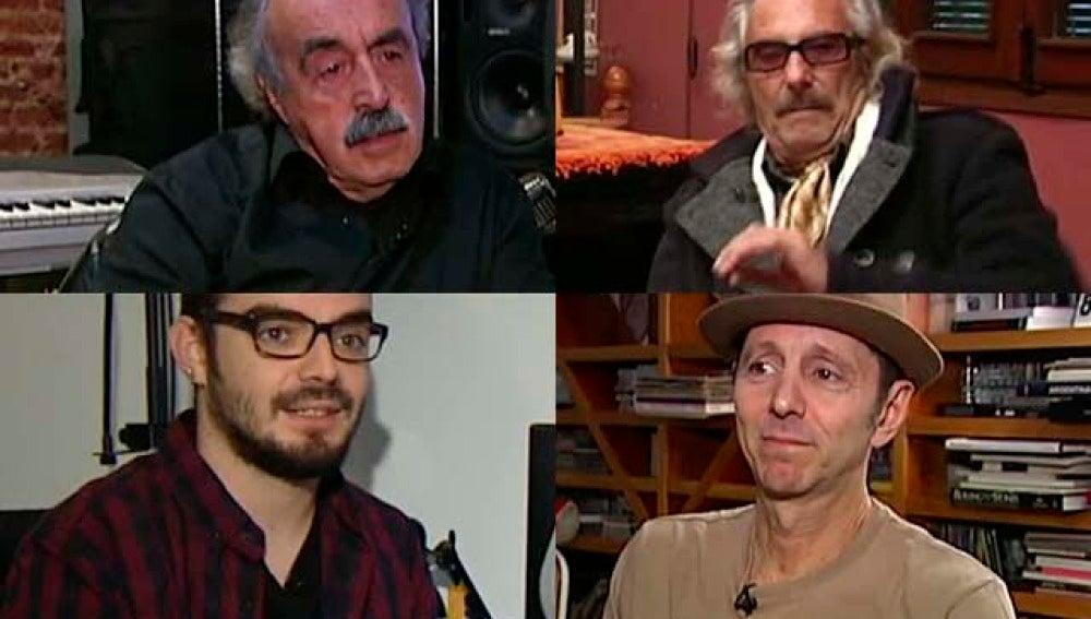 Los compositores de las sintonías de PP, PSOE, Ciudadanos y Podemos