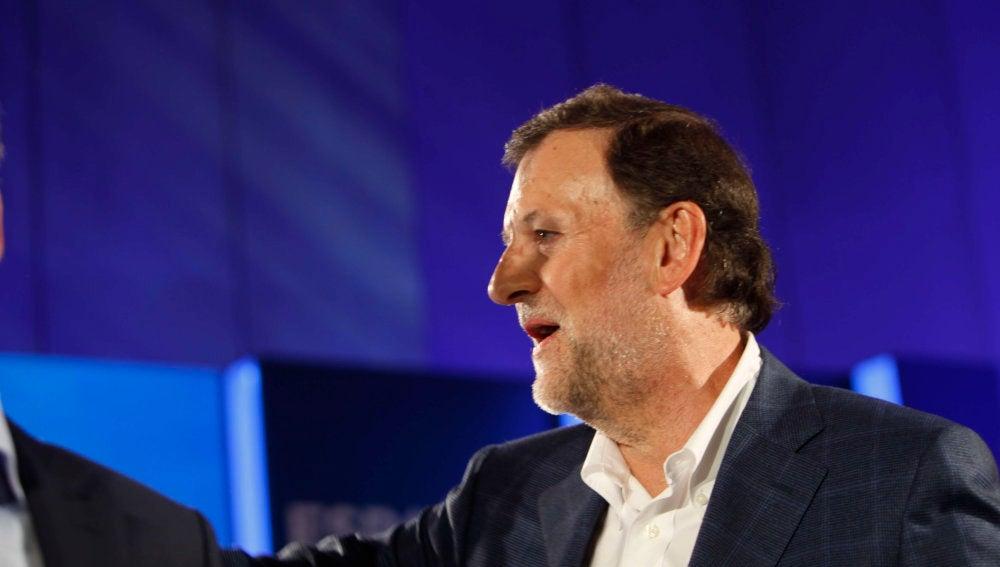 Mariano Rajoy, tras sufrir la agresión por parte de un menor en Pontevedra