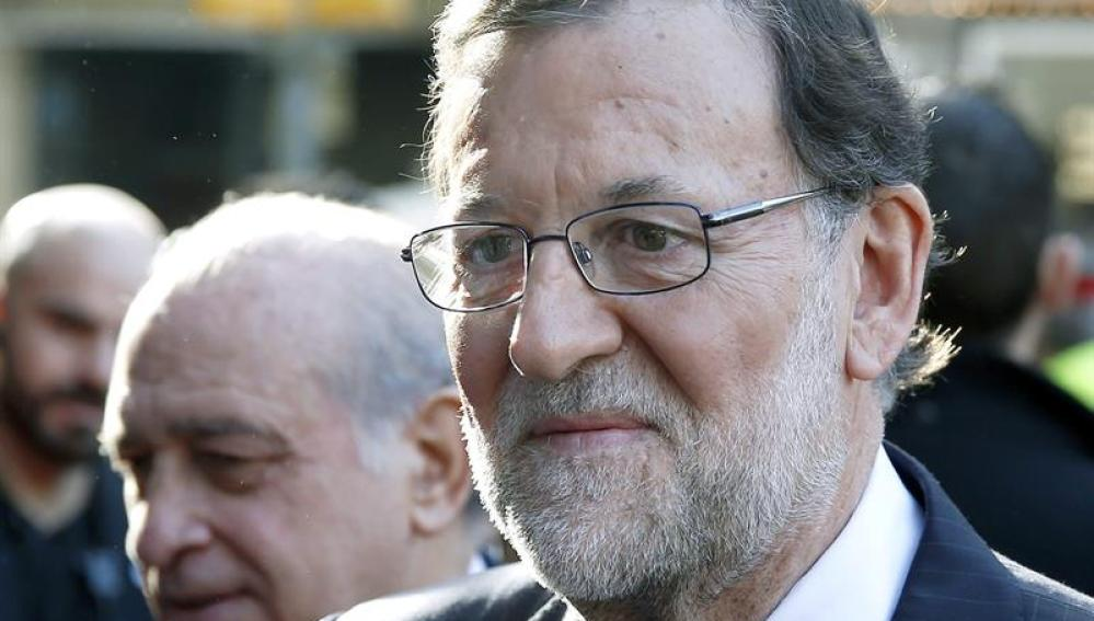 Rajoy, el día después de la agresión en Pontevedra
