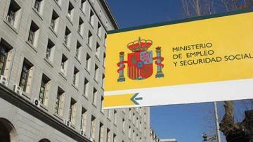 Fachada del Ministerio de Empleo y Seguridad Social