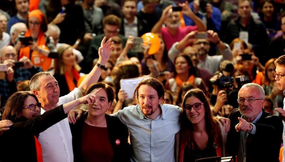 El candidato de Podemos a la Presidencia del Gobierno, Pablo Iglesias